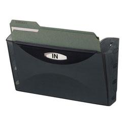 Eldon(R) Ultra Hot Files(R) Letter Wall File, Black