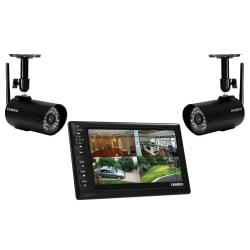 Uniden UDS655 Digital Wireless Video Surveillance System With 7in. LCD Monitor And 2 Cameras