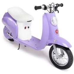 Razor Pocket Mod(TM) Betty Scooter, 12 1/8in.H x 23 1/4in.W x 49 1/2in.D, Purple