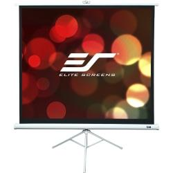 Elite Screens T113NWS1 Portable Tripod Projector Screen