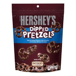 Hershey's(R) Chocolate-Dipped Pretzels, 8.5 Oz, Pack Of 6 Bags