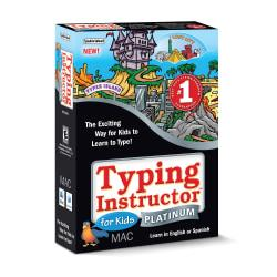 Typing Instructor For Kids Platinum, For Mac, Traditional Disc