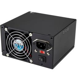 StarTech.com Professional - Computer Power supply with PCIe and SATA ( internal ) - ATX12V 2.01 - AC 115/230 V - 400 Watt - 14 output connector(s)