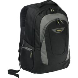 Targus Trek Carrying Case (Backpack) for 16in. Notebook - Black, Yellow, White Accent