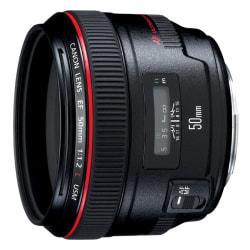 Canon EF 50mm f / 1.2L USM Normal Lens