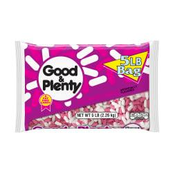 Good Plenty Licorice, 5-Lb Bag