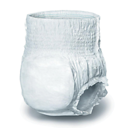 Protect Plus Protective Underwear, Medium, 28 - 40in., White, 25 Per Bag, Case Of 4 Bags