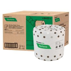 Cascades(R) Moka(TM) 100% Recycled Bathroom Tissue, 400 Sheets Per Roll, Case Of 80 Rolls