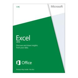 Microsoft(R) Office Excel(R) 2013, English Version, Product Key