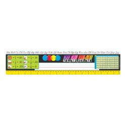 TREND Desk Toppers(R) Reference Name Plates, Zaner-Bloser, 3 3/4in. x 18in., Grades 3-5, 36 Plates Per Pack, Set Of 3 Packs