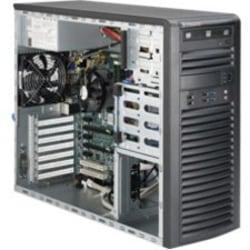 Supermicro SuperWorkstation 5038A-iL Barebone System - 3U Mid-tower - Intel C226 Express Chipset - Socket H3 LGA-1150 - 1 x Processor Support - Black