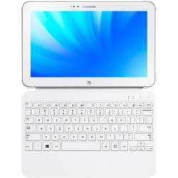 Samsung AA-BK1NWBW Keyboard/Cover Case (Book Fold) for Tablet - White