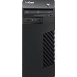 Lenovo ThinkCentre M73 10B00008US Desktop Computer - Intel Core i7 i7-4770 3.40 GHz - Mini-tower - Business Black