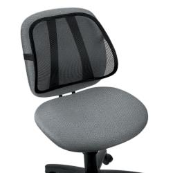 Fellowes Office Suites Mesh Back Support, Black