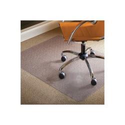 E.S.ROBBINS Natural Origins Standard Lip Hard Floor Chairmat - Hard Floor, Desk Protection, Workstation, Wood Floor, Tile Floor, Office - 53in. Length x 45in. W