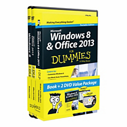 Windows(R) 8 Office 2013 For Dummies Portable Edition Bundle