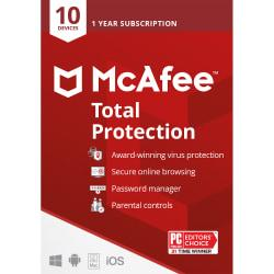 McAfee(TM) Total Protection, For 10 Devices, For PC/Mac, Download Version