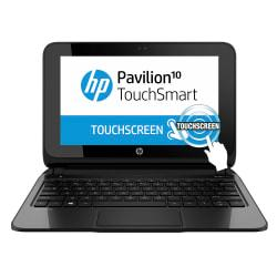 HP Pavilion 10-e010nr TouchSmart Laptop Computer With 10.1in. Touch-Screen Display AMD A4 Accelerated Processor