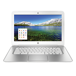 HP Pavilion 14-q010nr Chromebook Laptop Computer With 14in. Screen Intel(R) Celeron(R) Processor