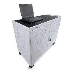 Bretford LAP30EULBA-GM Welded Laptop Storage Cart