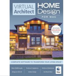 Virtual Architect Home Design Software for Mac, Download Version