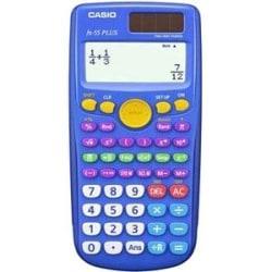 Casio fx-55Plus Scientific Calculators, Pack Of 10