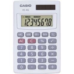Casio Solar Mini Handheld Calculator, HS4G