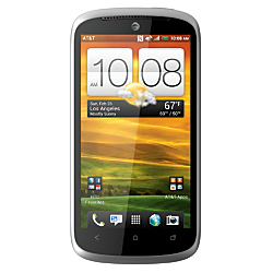 HTC One VX ATT 4G LTE Unlocked GSM Android Cell Phone, Gray/Red