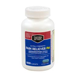 Berkley Jensen Extra-Strength Pain Reliever PM, Pack Of 500
