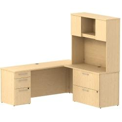 L Desk With Hutch And Lateral File Price Tracking