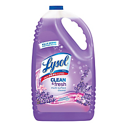 Lysol(R) Clean Fresh Multi-Surface Cleaner, 144 Oz, Clean Fresh Lavender Orchid