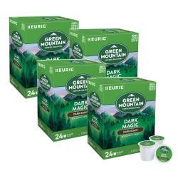 Green Mountain Coffee(R) Dark Magic(R) Extra Bold Coffee K-Cups(R), Case Of 96