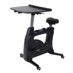 Flexispot V9 Desk Exercise Bike, With Notebook Tray, Black