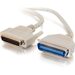 C2G 50ft IEEE-1284 DB25 Male to Centronics 36 Male Parallel Printer Cable