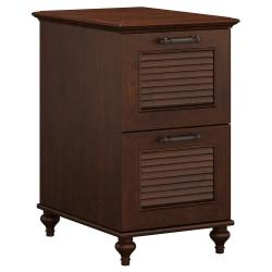 kathy ireland(R) Office by Bush Furniture Volcano Dusk 2 Drawer File Cabinet, Coastal Cherry, Standard Delivery