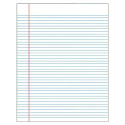 TOPS(TM) The Legal Pad(TM) Glue-Top Writing Pads, 8 1/2in. x 11in., Wide Ruled, 50 Sheets, White, Pack Of 12 Pads
