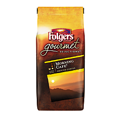 Folgers(R) Gourmet Selections Morning Cafe Coffee, 10 Oz.