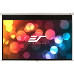 Elite Screens Manual Wall And Ceiling Projector Screen, 150in. Diagonal, M150XWH2