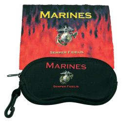 Integrity Eye Glass Case And Wipe Cloth, Marines, Pack Of 6