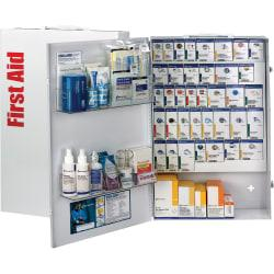First Aid Only SmartCompliance XXL 200-Person General Business First Aid Cabinet, 26in.H x 17in.W x 5 3/4in.D, White