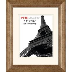 PTM Images Photo Frame, 1 Opening Portrait, 14 1/2in.H x 2in.W x 17 1/2in.D, Champagne