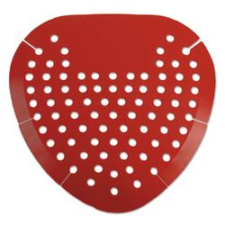 Impact Products Deluxe Deodorizing Urinal Screens - Cherry - Lasts upto 45 Day - Deodorizer, Flexible - 12 / Box - Red