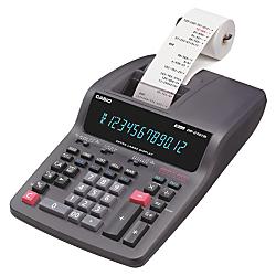Casio(R) DR-270TM Heavy-Duty Printing Calculator