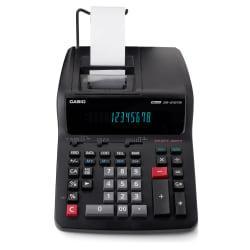 Casio(R) DR-210TM Printing Calculator