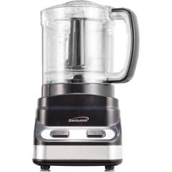 Brentwood 3 Cup Food Processor in Black (FP-547)