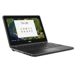 Dell(TM) Chromebook 3180 Laptop, 11.6in. Screen, Intel(R) Celeron(R) N3060, 4GB Memory, 16GB eMMC, Chrome OS
