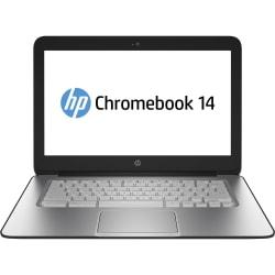 HP Chromebook 14 G1 14in. LED (BrightView) Notebook - Intel Celeron 2955U 1.40 GHz - Black