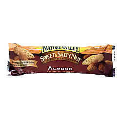 Nature Valley(R) Sweet Salty Peanut Bars, Almond, 1.2 Oz, Box Of 16