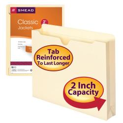 Smead Reinforced Top File Jackets Convenience