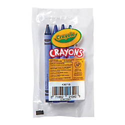 Crayola Standard Crayons Assorted Blue Pack